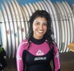 Surfing at Manly Beach, AU
